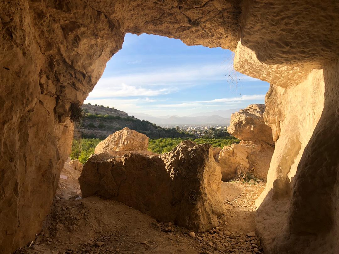 شیراز پیک نیک -  غار سنگ اشکن